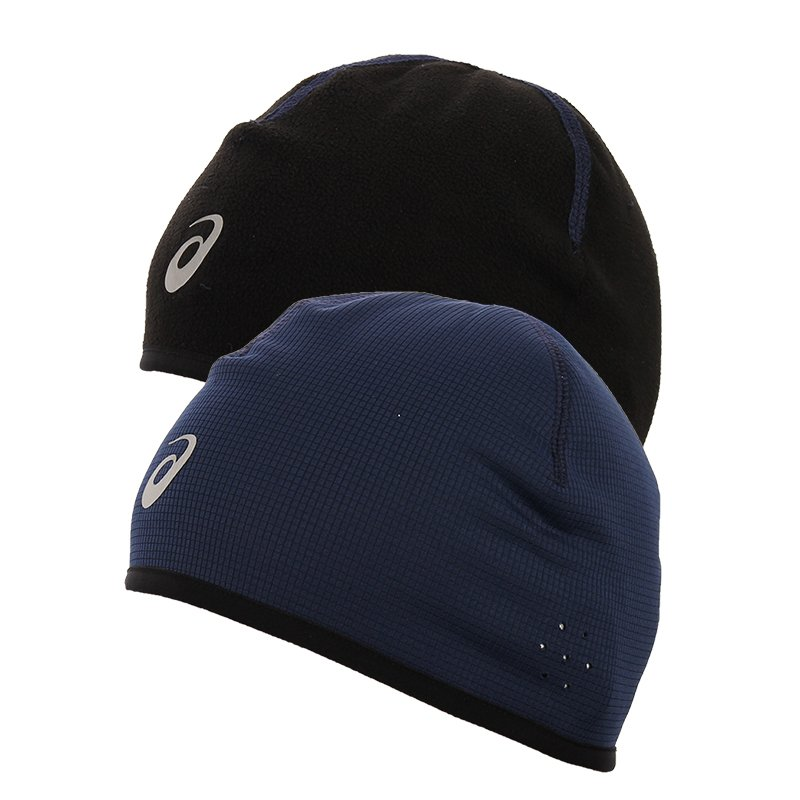 ... czapka do biegania dwustronna ASICS WINTER BEANIE   108505-8052 ... c435edf0847