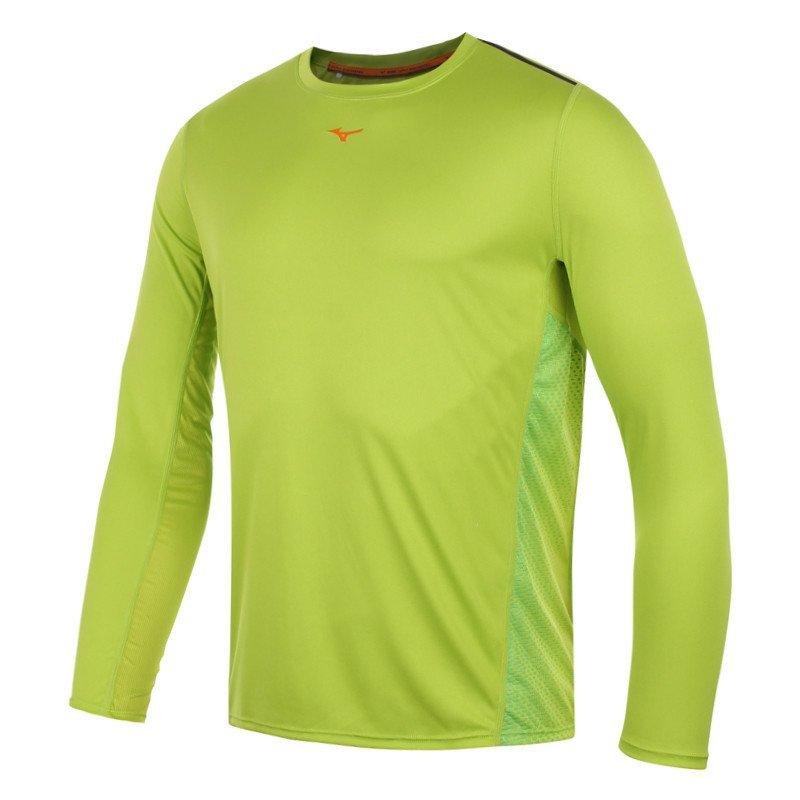 47e748cb80842d ... koszulka do biegania męska MIZUNO DRYLITE COOLTOUCH LONGSLEEVE TEE /  J2GA500737 ...