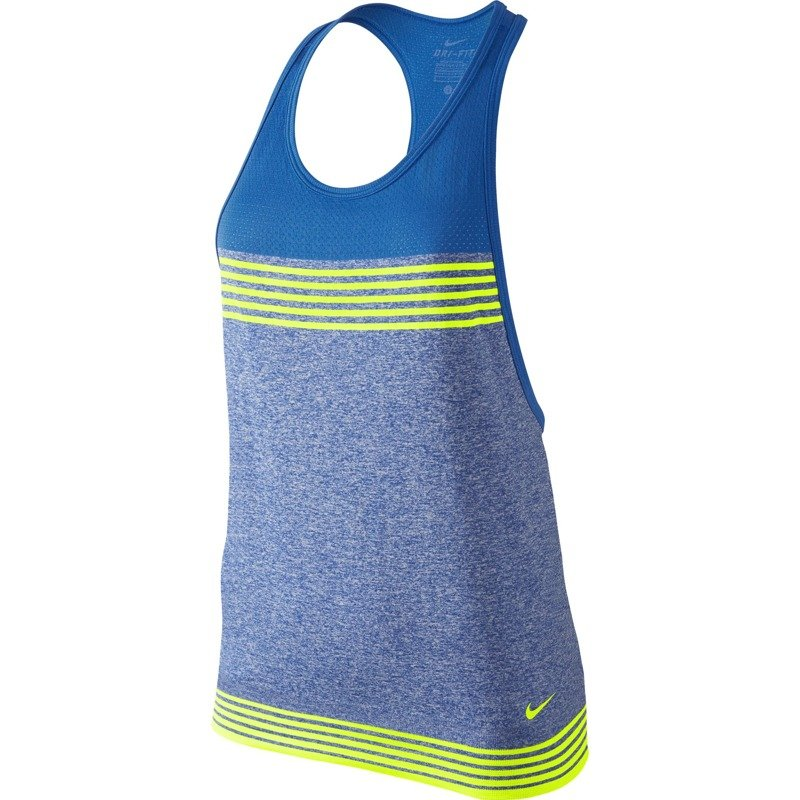 91315333d ... koszulka sportowa damska NIKE DRI-FIT KNIT LOOSE TANK / 682895-480 ...