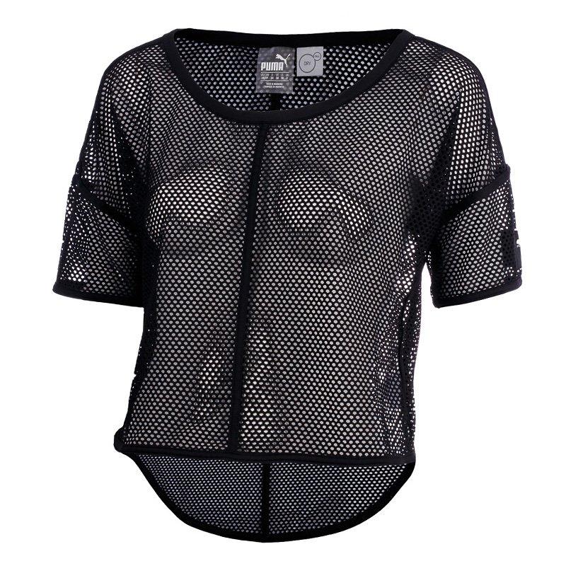 autoryzowana strona buty do biegania nowy koncept koszulka sportowa damska PUMA EXPLOSIVE MESH TOP / 515280-01