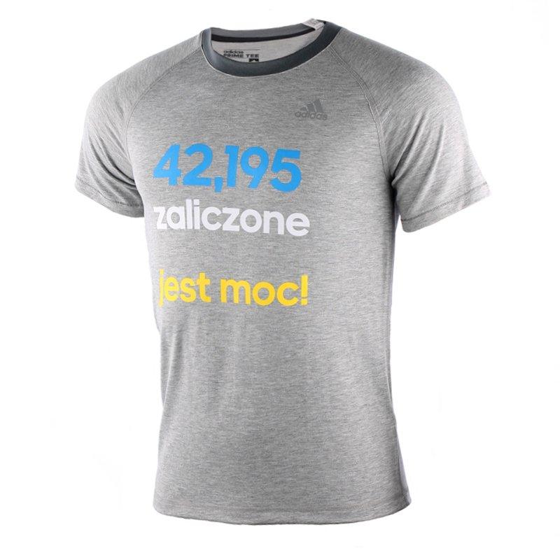 3fb7de58cdc666 koszulka sportowa męska ADIDAS MARATON AIS PRIME TEE / S27041 32998 ...