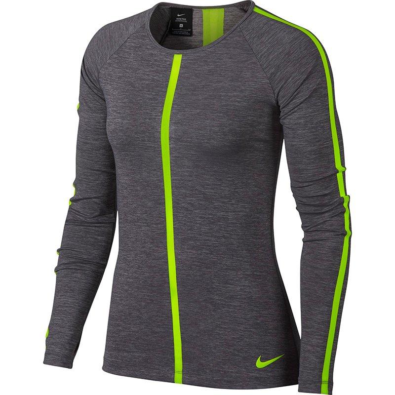 ... koszulka termoaktywna damska NIKE PRO HYPER COOL LONG SLEEVE TOP    889631-036 ... fa63b949b