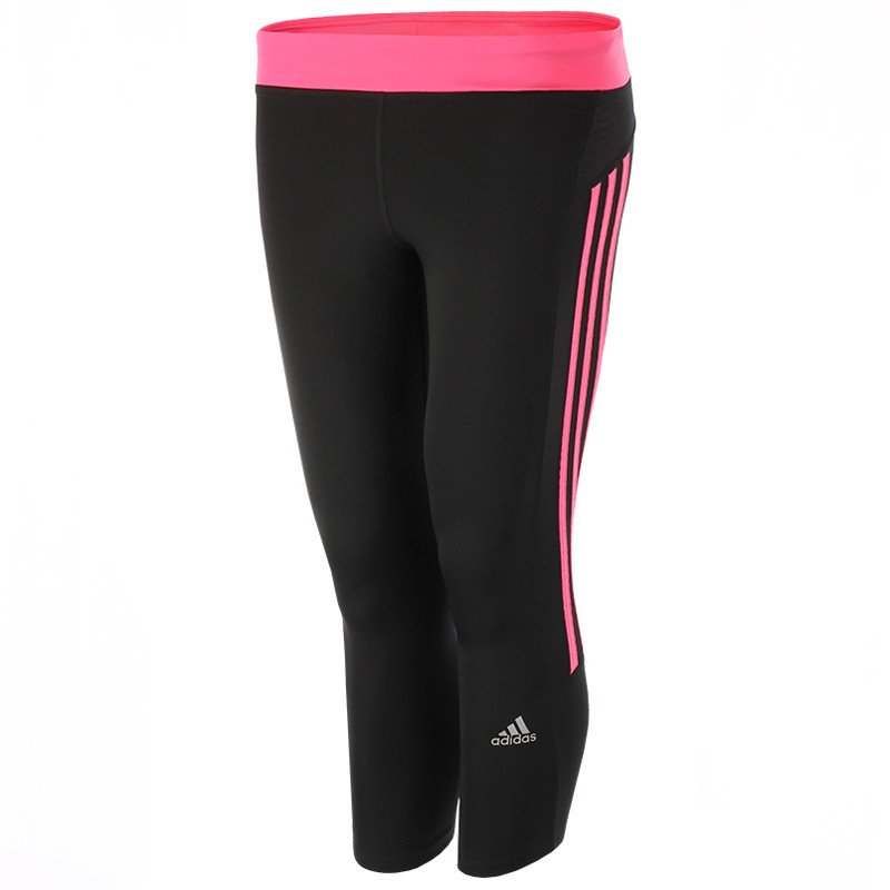 konkretna oferta ogromna zniżka znana marka legginsy do biegania damskie ADIDAS RESPONSE 3/4 TIGHTS / M61868