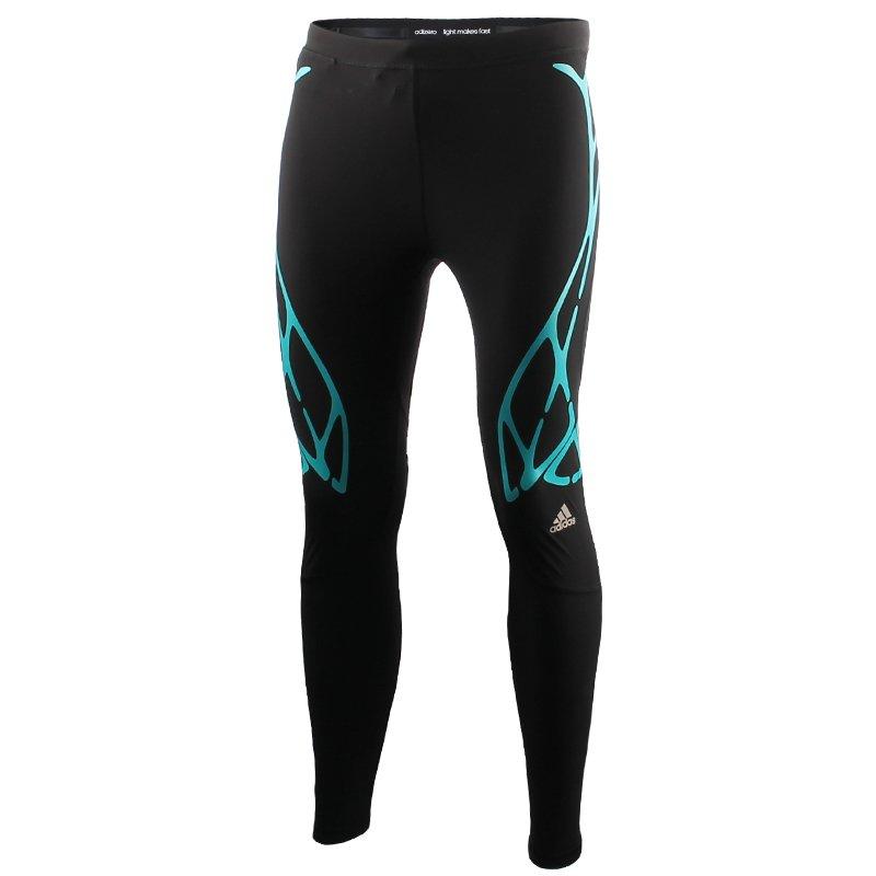 oferować rabaty najlepsze trampki 50% zniżki spodnie do biegania męskie ADIDAS ADIZERO SPRINTWEB LONG TIGHT / AI3221