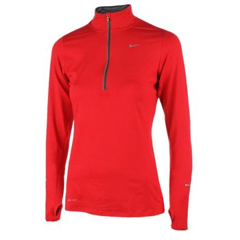 bluza do biegania damska NIKE ELEMENT HALF ZIP / 481320-602