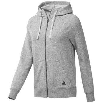 bluza sportowa damska REEBOK  ELEMENTS FRENCH FULL ZIP HOODIE / CF8595