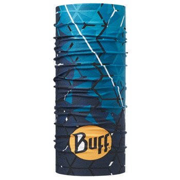chusta do biegania BUFF HIGH UV PROTECTION BUFF HELIX OCEAN / 115178.737.10