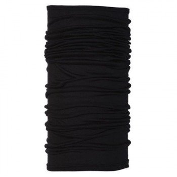 chusta do biegania BUFF WOOL BUFF BLACK