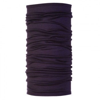 chusta do biegania BUFF WOOL PLUM