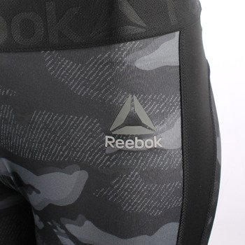 legginsy damskie 3/4 REEBOK WORKOUT READY PRINTED CAPRI / AP4299