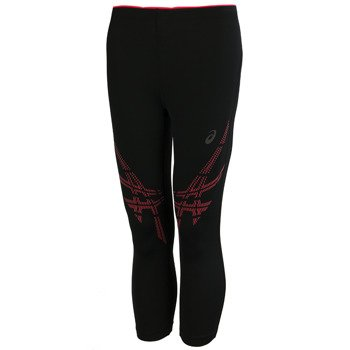 legginsy do biegania damskie 3/4 ASICS STRP KNEE TIGHT / 141231-0688