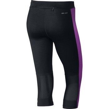 legginsy do biegania damskie 3/4 NIKE DRI-FIT ESSENTIAL CAPRI / 645603-017