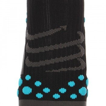 skarpety kompresyjne COMPRESSPORT RUN PRO RACING SOCKS 3D.DOT HIGH-CUT (1 para) /  RSH BLACK-BLUE 01319-204
