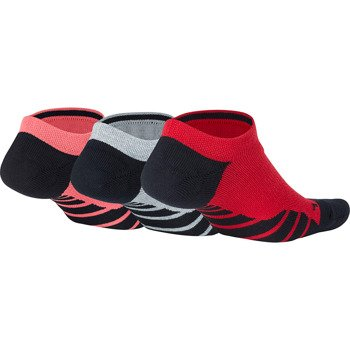 skarpety sportowe NIKE WOMENS  DRY CUSHION NO SHOW TRAINING SOCKS (3 pary) / SX5571-938