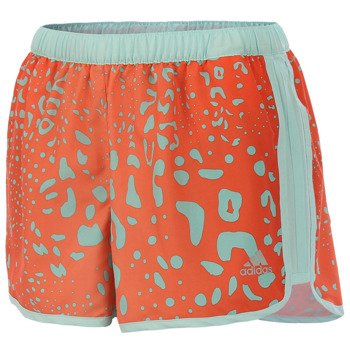 spodenki do biegania damskie ADIDAS MARATHON 10 SHORT COOLER GRAPHIC 2 / M61946
