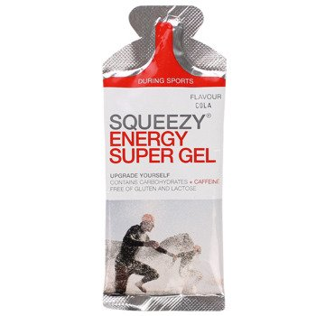 suplement SQUEEZY ENERGY GEL cola + kofeina / 33g